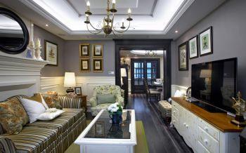 欧式风格100平米3房1厅房子装饰效果图
