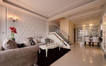 欧式风格100平米复式新房装修效果图