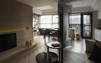 简约风格60平米2房2厅房子装饰效果图