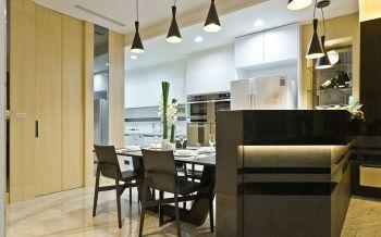 现代简约风格110平米2房1厅房子装饰效果图
