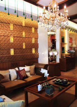 东南亚风格180平米别墅新房装修效果图