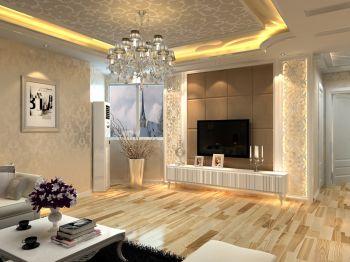 现代简约风格110平米套房新房装修效果图