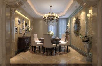 欧式风格220平米复式新房装修效果图