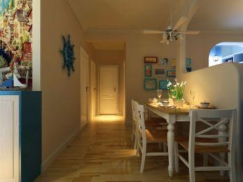 2021地中海120平米装修效果图片 2021地中海四居室装修图