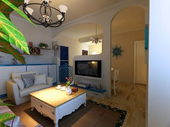 2021简约50平米装修图片 2021简约公寓装修设计