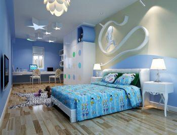 儿童房地砖地中海风格装潢效果图