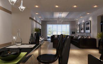 现代简约风格130平米四室一厅新房装修效果图
