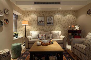 混搭风格80平米2房1厅房子装饰效果图