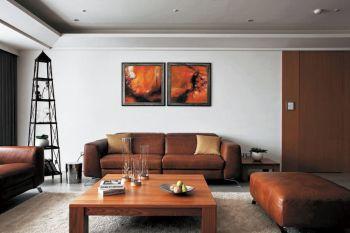 现代简约风格120平米三房一厅新房装修效果图