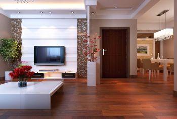 客厅地板砖现代简约风格装饰图片