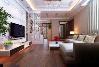 现代简约风格100平米三房一厅新房装修效果图