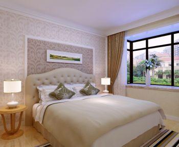 卧室窗帘现代风格装修效果图