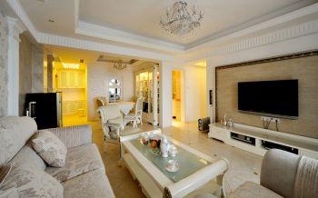 欧式风格120平米3房1厅房子装饰效果图