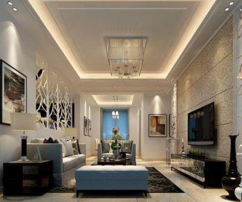 现代简约风格120平米套房新房装修效果图