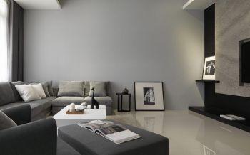 简约风格110平米3房1厅房子装饰效果图