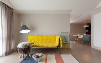 简约式风格80平米套房新房装修效果图
