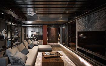 现代简约120平米3房1厅房子装饰效果图