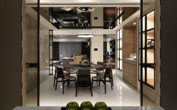现代简约风格100平米2房1厅房子装饰效果图