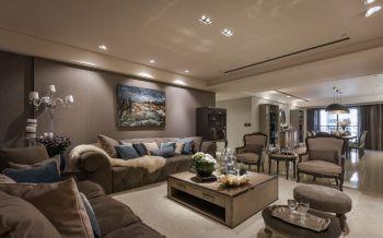 新古典风格180平米大户型房子装饰效果图