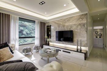 欧式风格90平米3房1厅房子装饰效果图
