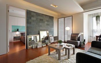 客厅地板砖现代风格装修效果图