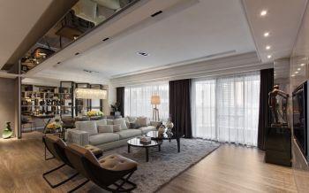 现代风格120平米3房1厅房子装饰效果图
