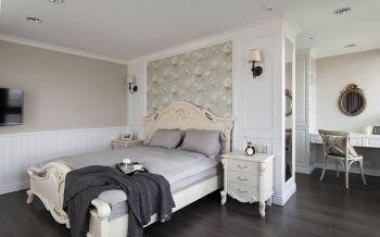 卧室床头柜北欧风格装饰设计图片