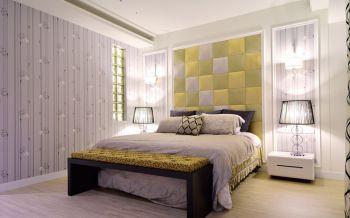 卧室背景墙现代简约风格装修效果图