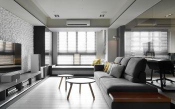 客厅简约风格效果图