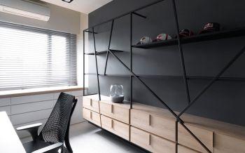 起居室简约风格装饰效果图