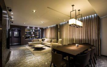 现代简约风格110平米3房1厅房子装饰效果图