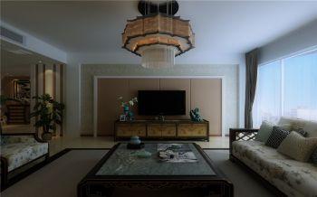 简中风格134平米大户型房子装饰效果图