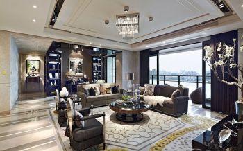 客厅沙发后现代风格效果图