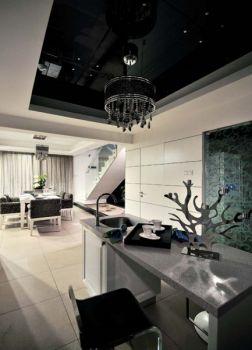 厨房吊顶后现代风格装潢效果图
