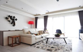 简约风格100平米3房1厅房子装饰效果图