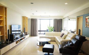 现代风格80平米2房1厅房子装饰效果图