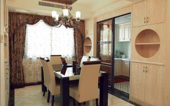 餐厅窗帘古典风格装饰效果图