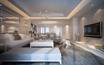 新古典风格110平米四室一厅新房装修效果图