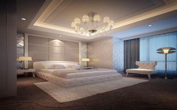卧室窗帘新古典风格装潢图片