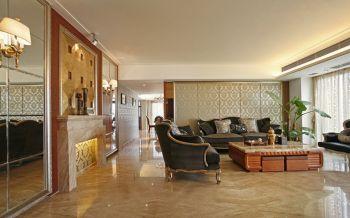 客厅茶几新古典风格装饰效果图