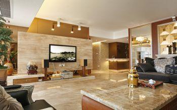 新古典风格100平米三室一厅新房装修效果图