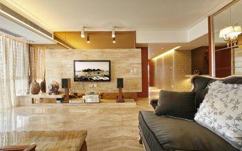 客厅地板砖新古典风格装饰图片