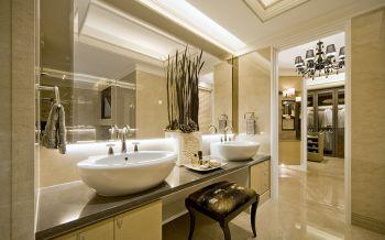 卫生间洗漱台古典风格装饰图片