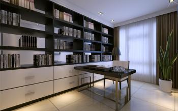 现代简约风格120平米3房1厅房子装饰效果图