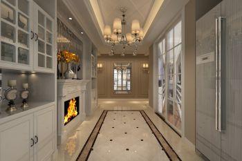 玄关走廊欧式风格装饰效果图
