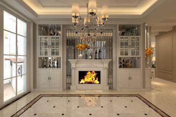 客厅灯具欧式风格装潢图片