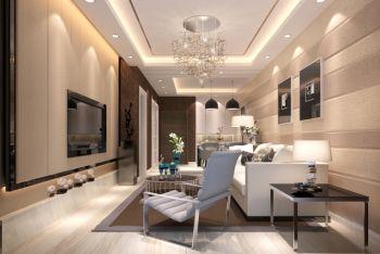 2021现代简约80平米设计图片 2021现代简约二居室装修设计