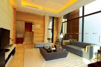 现代风格150平米跃层新房装修效果图