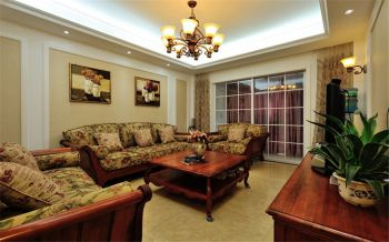 客厅现代欧式风格效果图