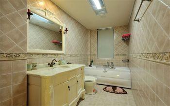 卫生间现代欧式风格装潢效果图